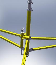 Телескопическая осветительная мачта М 15-36