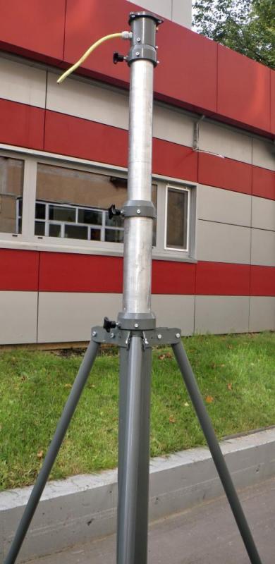 Телескопическая осветительная мачта М 18-36
