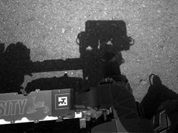 14.08.2012 Первые фото с Марса
